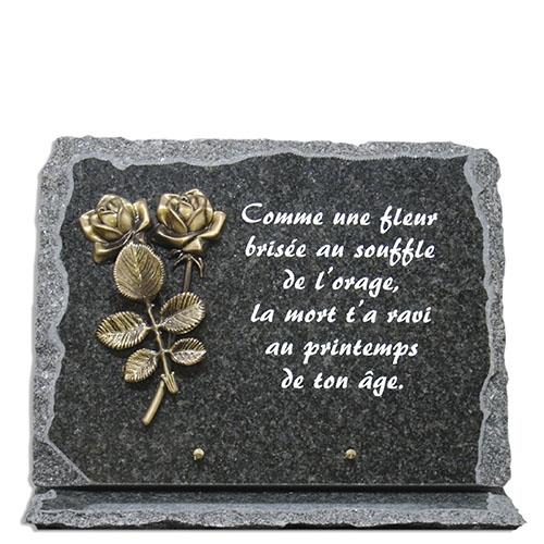 Plaques Funéraires pour Tombe (Personnalisable)