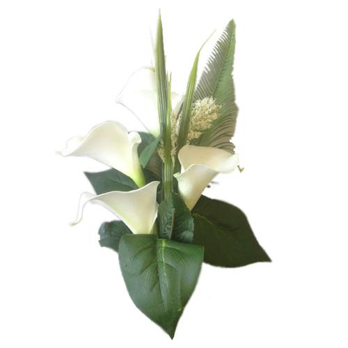 Couronnes de Fleurs Funéraires pour Tombe