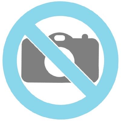 Mini-Urne funéraire céramique coeur argenté